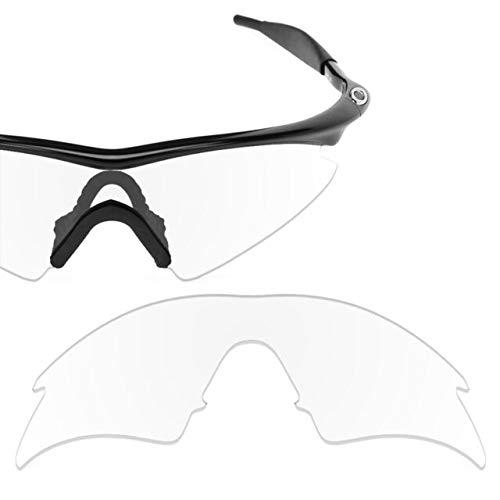 sunglasses restorer Kompatibel Ersatzgläser für Oakley M-Frame Sweep (Klar)