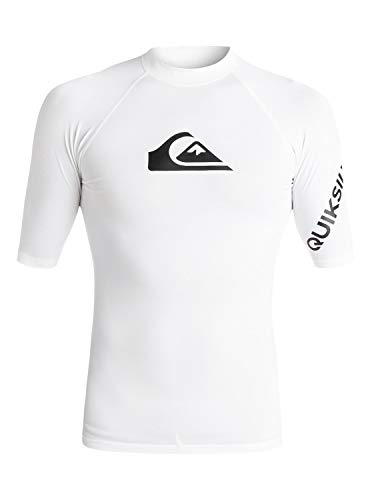 Quiksilver All Time Lycra Manches Courtes UPF 50 Homm