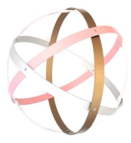 Genesa Crystal, Purificatore energia, Genesacolor 32 cm diametro, Bronzo, rosa, argento e bianco
