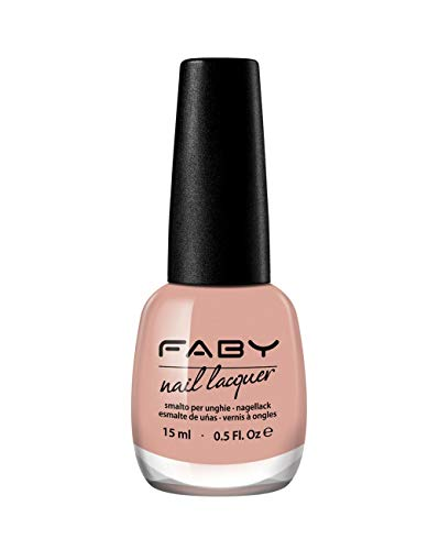 FABY NAILS - Faby Diaries - Vernis à ongles Skin Tight - Rose - Durable - 100% végétalien, 10-free vernis à ongles - 15 ml