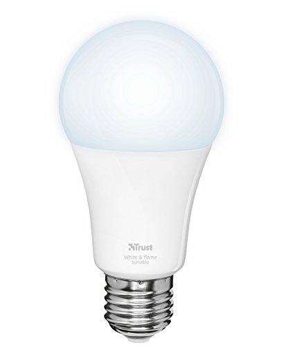 Trust ZLED-TUNE9 Lampadina LED Intelligente Regolabile, Philips Hue* Compatibile, 230 V, Bianco