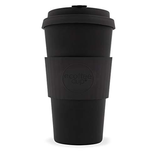 Ecoffee Cup Kerr et Napier 453,6 Gram Noir Mat réutilisables en Bambou Tasse à café
