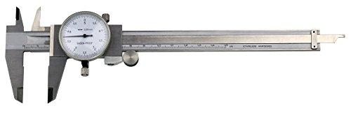 Uhren-Messschieber mit Rolle, Schieblehre, Messbereiche: 150 - 200 - 300 mm(150 mm, 0,05 mm)