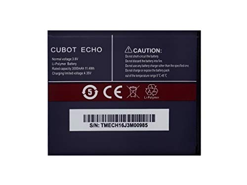 Original Cubot Echo 3000 mAh
