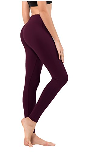 Queenie Ke Damen Power Flex Yoga Hosen Training Laufende Leggings Farbe Rose Rot Größe M