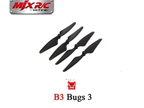 Hélices Blades para MJX B3 RC Quadcopter Drone (MJX Bugs 3) Accesorios de Repuestos