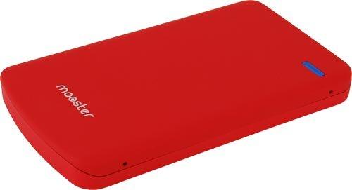 'Mooster pcs71501mhd59r-2.5Gehäuse für externe Festplatte, SATA, USB 2.0, Rot