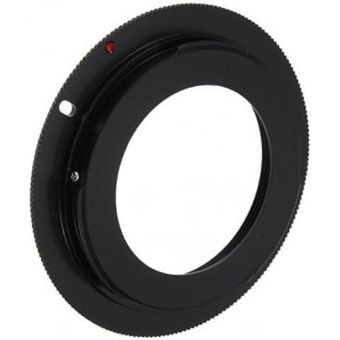 ossidiana M42Lens per Canon EOS EF anello adattatore di montaggio per 7d 50d 60d 500d 550d