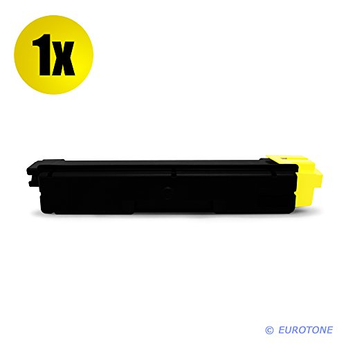 Preisvergleich Produktbild 1x Eurotone Toner für Kyocera Ecosys M 6026 6526 cdn cidn ersetzt 1T02KVANL0 TK-590Y