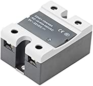 Hapeisy Single-phase SSR-DA 40A DC-AC Contactless Solid State Relay For Heated Bed 3D Printer Parts