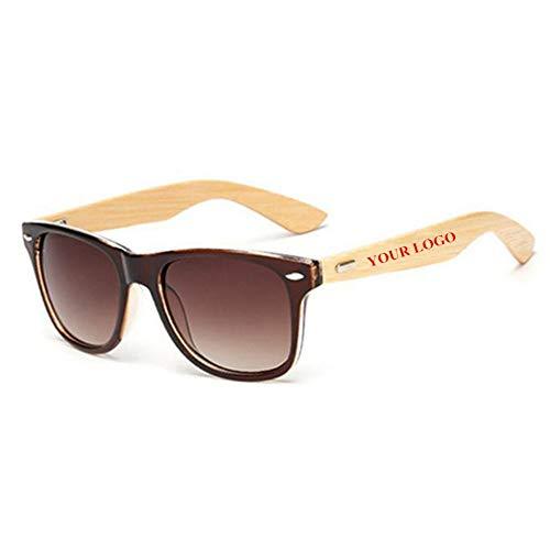 ZHOUYF Sonnenbrille Fahrerbrille Benutzerdefinierte Logo Bambus Fuß Sonnenbrillen Frauen Original Holz Sonnenbrillen Customerized Männer Holz Sonnenbrillen 20 Teile/Satz Großhandel, C