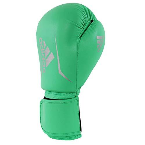 adidas Erwachsene Speed 50-grün/Silber 8 oz adiSBG50 Boxhandschuhe,