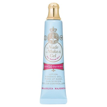 Shiseido Majolica Majorca Nude Make Gel (Four Active Girl) SPF50EPA++++ 25g - LB (Green Tea Set)