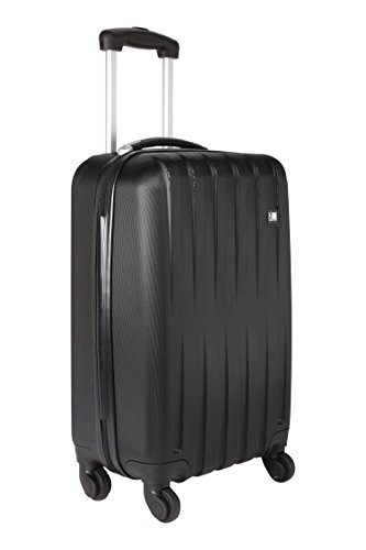 Nasher Miles 55cm ABS Hard Sided Cabin Luggage - Trolley/Travel/Tourist Bags (Black)