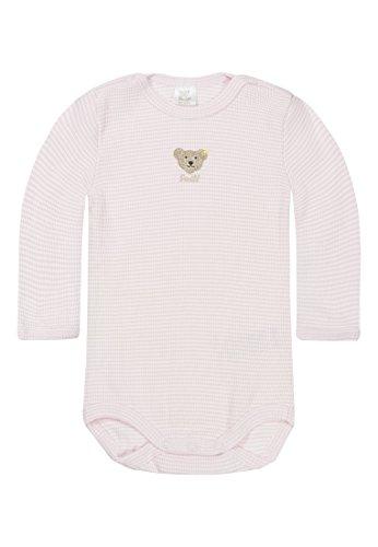 Steiff Unisex - Baby Body 0008653, Gr. 68, Rosa (barely pink 2560)