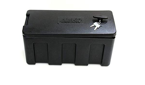 P4u Robuste Staubox Deichselbox Al Ko Alko Kunststoff 515 X 225 X 275mm Abschließbar Vox Aufbewahrungsbox Anhänger Trailer 1224324 Auto
