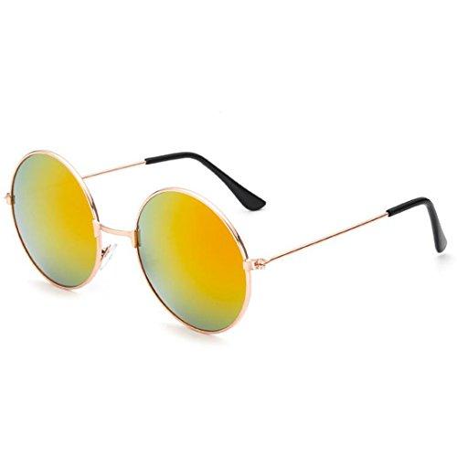 Vintage Runde Objektiv Sonnenbrille Männer Frauen Luxus Skinny Narrow Frame Weibliche Polarisierte Sonnenbrille Shades Rot