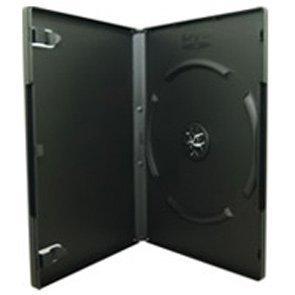 DVD Case 14mm Single Black Pack of 50