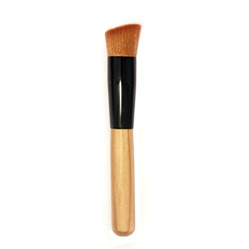 ESYN Manche en bois Brosse de maquillage