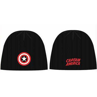 Spiderman 4 Kostüm Fantastic - Marvel Comics Beanie Captain America Logo