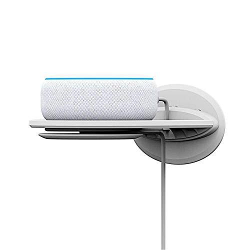 SUPERLOVE Wandregal Wandhalterung Amazon Echo Dot 3 2-Lautsprecher Startseite Google-Startseite Mini Google WiFi Smartphones Überwachungskamera Support Portable