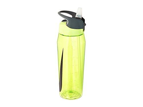 Nike Unisex-Erwachsene TR Hypercharge Straw Bottle 32 OZ/ 946 ml 739 Volt/cool Grey/Black Trinkflasche, Volt, One Size