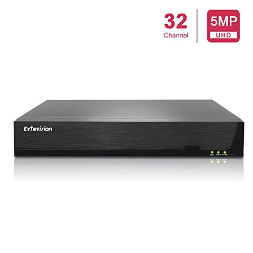 Evtevision PoE NVR 8CH 4K/32CH 5MP H.265 Network Video