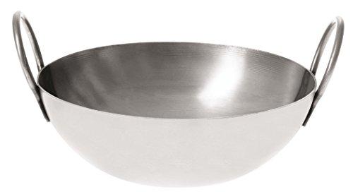 Paderno World Cuisine Carbon Balti (Pfanne Stahl, 20,3cm - Paderno Carbon