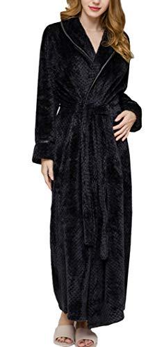 Albornoz Mujer Largos Elegante e Básicos Fashion Anchas Pijamas Mujer Mode De Marca Manga Larga V-Cuello...