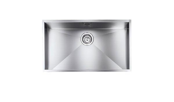 Undermount Sink cm, monovasca 77 x 45 cm.: Amazon.co.uk: DIY & Tools