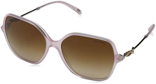 Tiffany & Co. Damen 0TY4145B 82453B 57 Sonnenbrille, Pink (Rose/Browngradient)