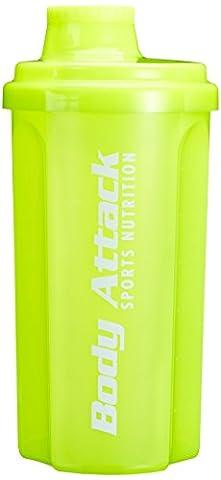 Body Attack Neon Yellow 700ml Shaker
