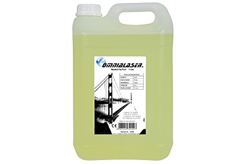 Flüssigrauch OmniaLaser Standard kompatibel mit allen Rauchmaschinen 5 Liter ()