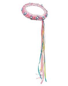 DREAMY DRESS-UPS 50390Rosa con Flores Wrap Disfraz (Talla única)