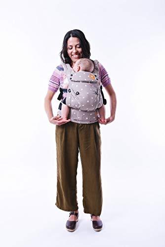 Baby Tula Explore - SLEEPY DUST - Marsupio regolabile per neonati e bambini, ergonomico, varie posizioni per 3,2-20,4 kg