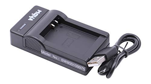 vhbw Micro USB Ladegerät Ladekabel für Kamera Canon Powershot G1 X, G10, G15, G16, SX40 HS, SX50 HS, SX60 HS