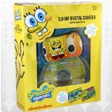 Nickelodeon SpongeBob Digital Camera with 1. 4-Inch LCD Screen - Yellow (27062)