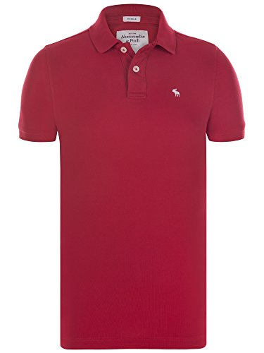 abercrombie-fitch-herren-poloshirt-muscle-fit-kurzarm-rot-xxl