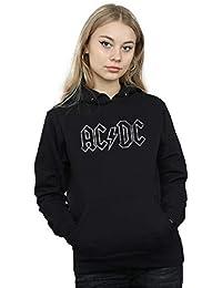 AC/DC Mujer Jagged Logo Capucha