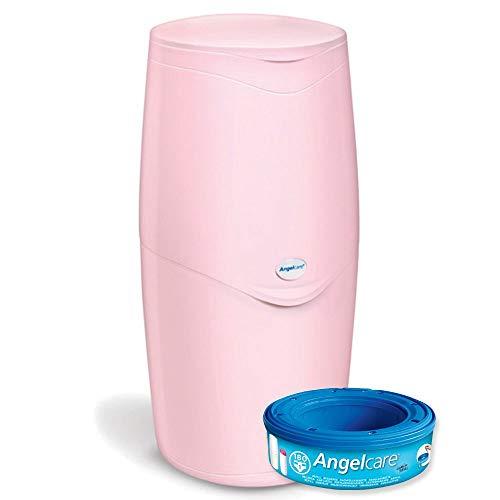 Angelcare, sistema di smaltimento pannolini, blu
