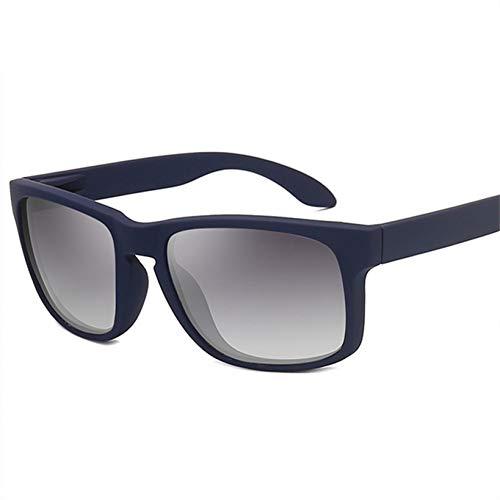 TIANKON Herren Sonnenbrille Polarisierte Männer Fahren Sonnenbrille Männlichen Rechteck Sonnenbrille Brille Brillen Uv400,Blau