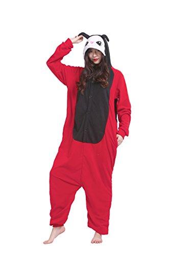 play Kostüme Kigurumi Tiere Schlafanzug Erwachsene Strampelanzug Anime Hoodie Nachtwäsche Marienkäfer M (Strampelanzug Erwachsene Outfits)