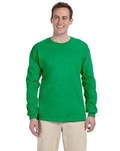 Erwachsene Ultra Cotton T-shirt (Kectelly Men's G240 Ultra Cotton Long Sleeve T-Shirt)