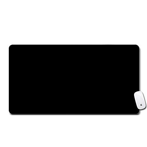 LL-COEUR XXL Schwarz Mauspad Gaming Mouse Mat Laptops Schreibtischunterlage Desk Pad (750 x 400 x 3 mm)