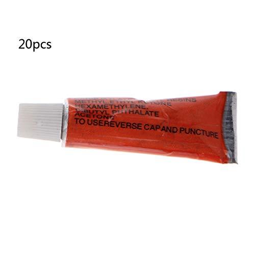 JOYKK 20Pieces 2ml Stärkekleber für Schmuckuhr DIY Repair Multi-Purpose - Transparent -
