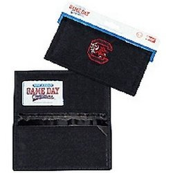 NCAA South Carolina Fighting Gamecocks Ladies Wallet with Checkbook Holder by Game Day Outfitters