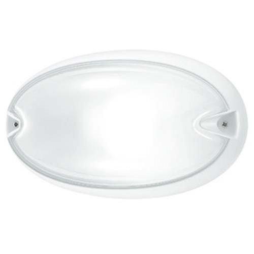 Prisma plafoniera chip 25 ovale bianco e27 cod. 005700