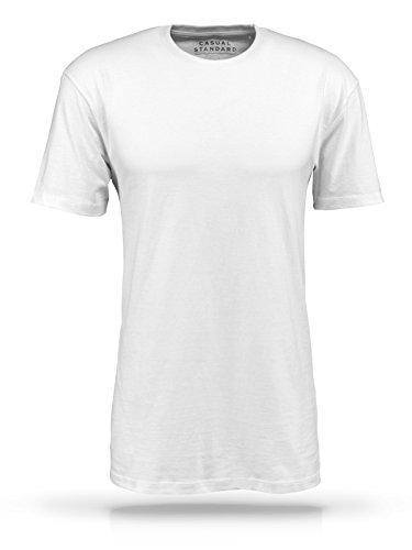 Casual Standard T-Shirt Herren I 3er Pack Set Weiße Basic Shirts mit  Rundhals- ... 2e274ba811