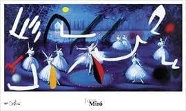 Joan miro ballet romantic 1974 reproduction