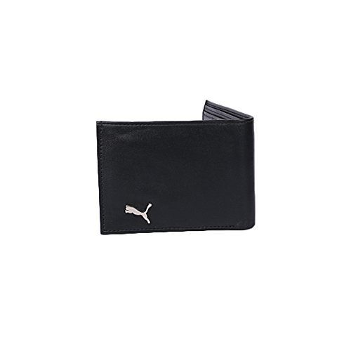 Puma Leather Men'S Wallet- Black